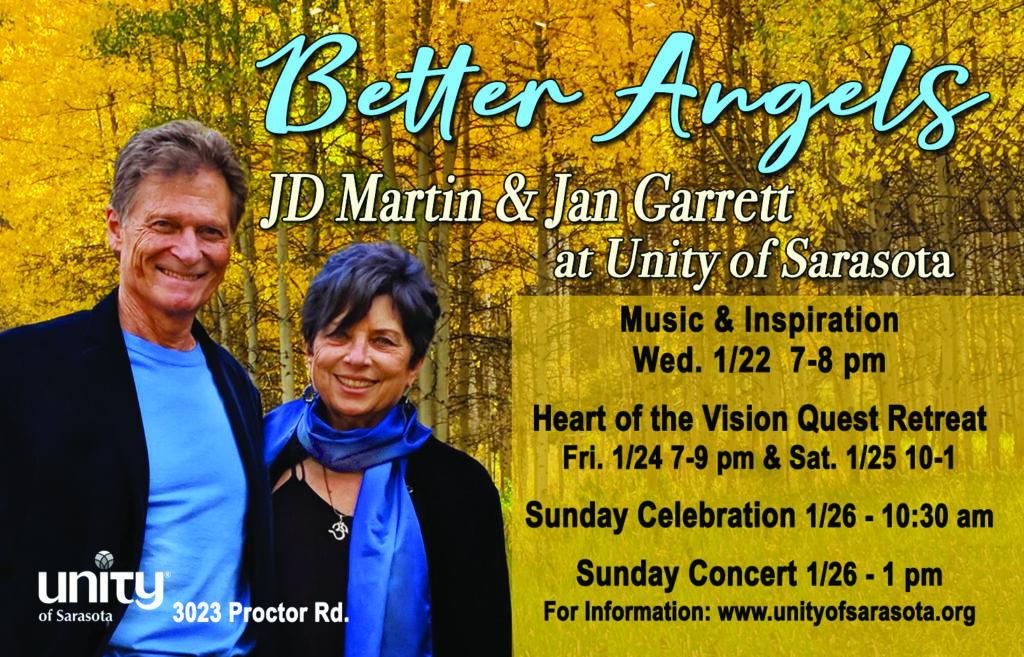 BETTER ANGELS JD Martin & Jan Garrett