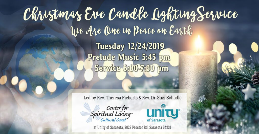 Christmas Eve Candle Lighting Service at Unity of Sarasota