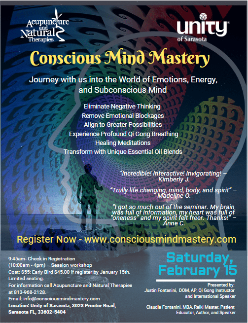 Conscious Mind Mastery Presented by Justin and Claudia Fontanini