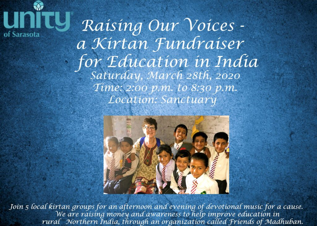 Raising Our Voices- a Kirtan Fundraiser for Education in India 4