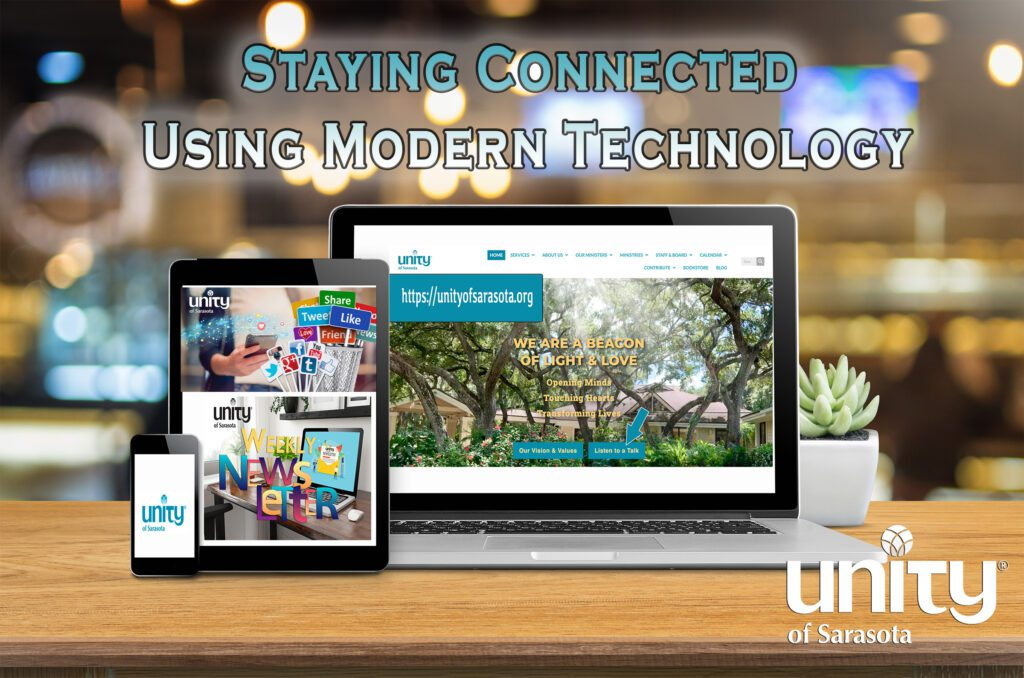 Staying Connected Virtually at Unity of Sarasota