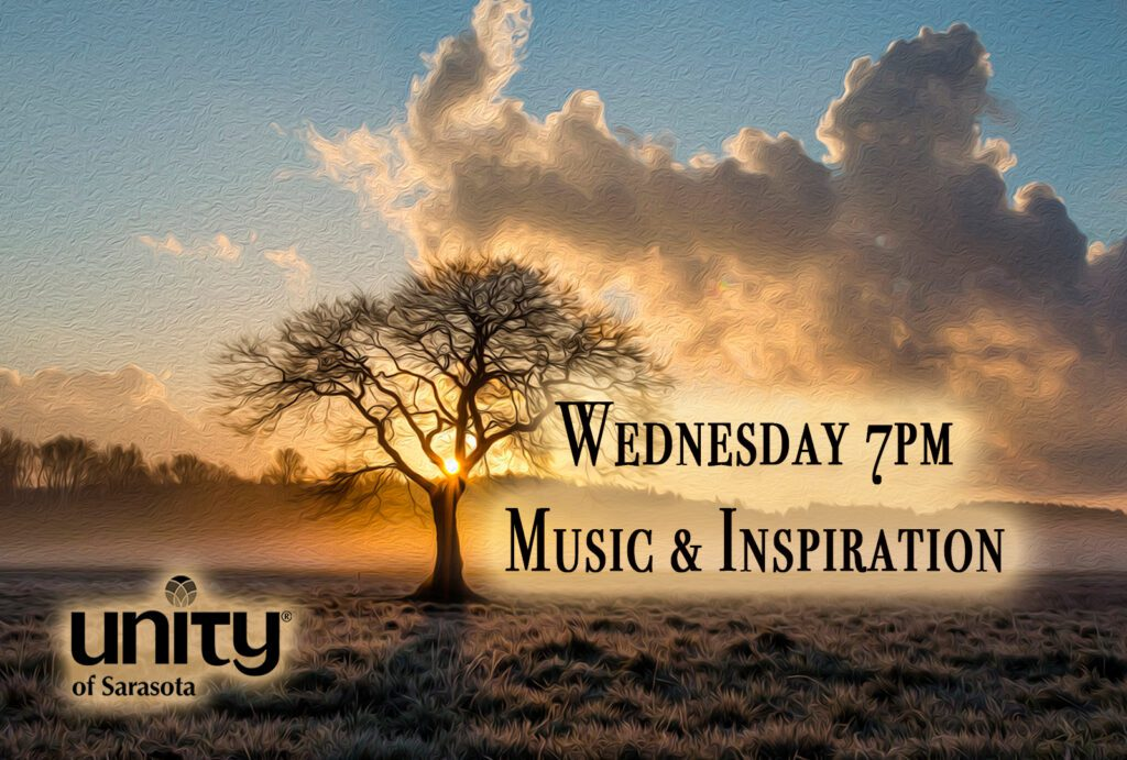 Wednesday Music & Inspiration Service at Unity of Sarasota