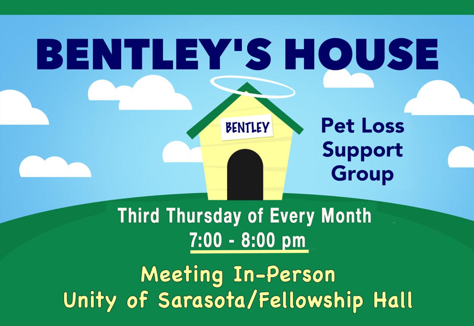 Bentley's House In person copy
