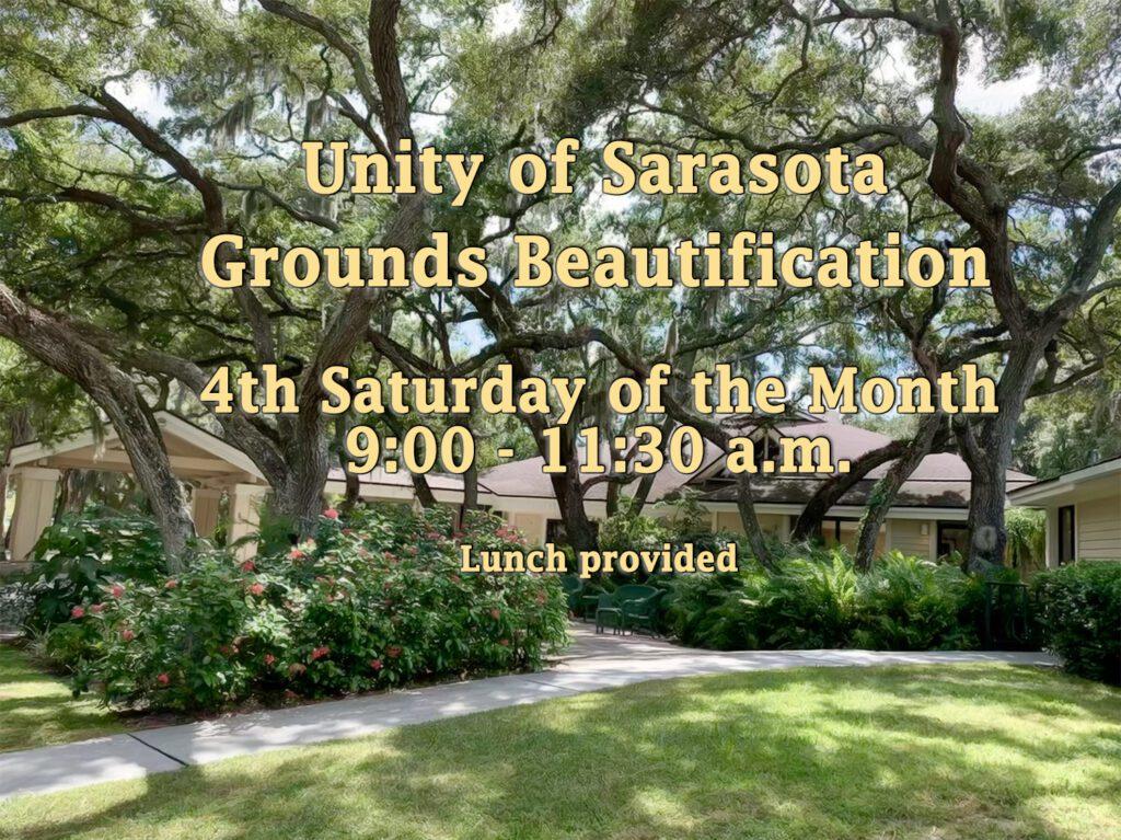 Grounds Beautification at Unity of Sarasota