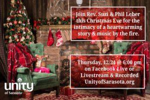 Christmas Eve Virtual Service at Unity of Sarasota