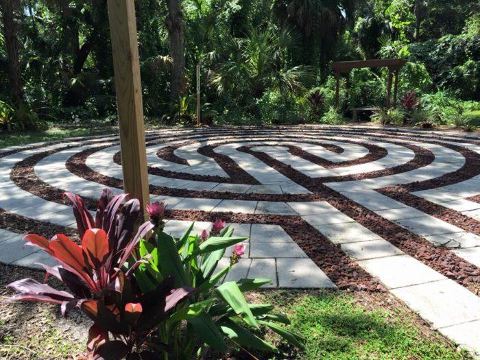 Labyrinth at Unity of Sarasota